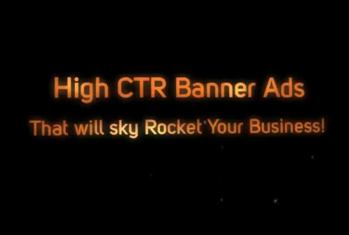 Tips & Tricks for making banners with high CTR