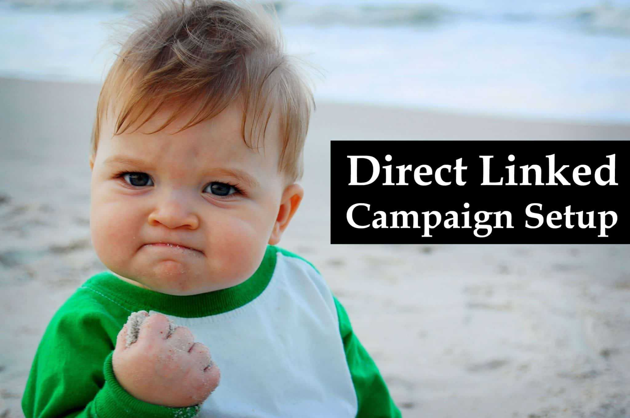 How to create a direct linked campaign on Thrive?