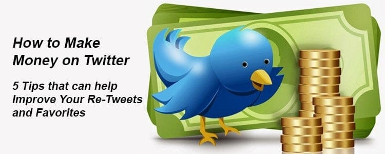 5 Tips On How to Make Money On Twitter as an Aff Marketer