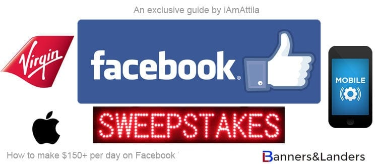 [FREEMIUM Guide]  $150+ per day on Facebook running sweepstakes offers