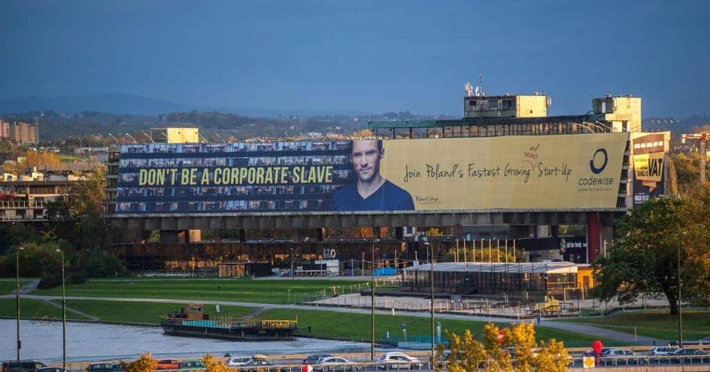 The biggest billboard in Europe?