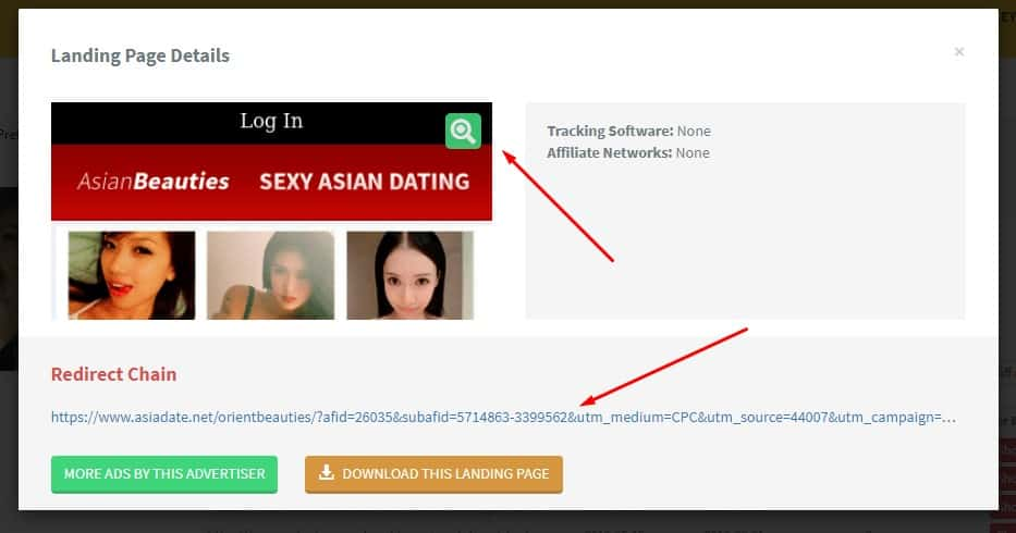 , How to Find POPS & PUSH landing pages using Adplexity