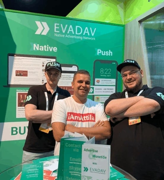 An Awesome Traffic Source I Met at AWE - Introducing EvaDav - Buy HQ Traffic or Sell Your Traffic & Earn Great eCPMs!