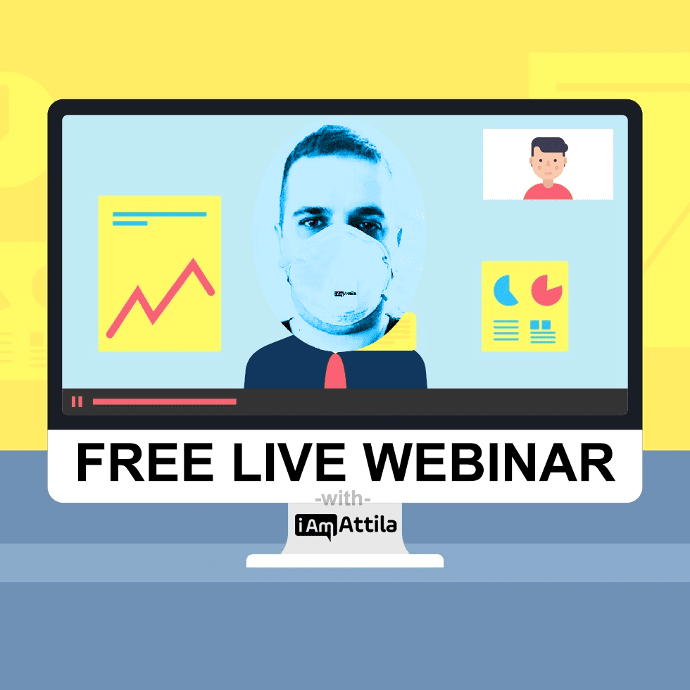 , FREE LIVE WEBINAR – Monday, March 30th – Sign Up Now