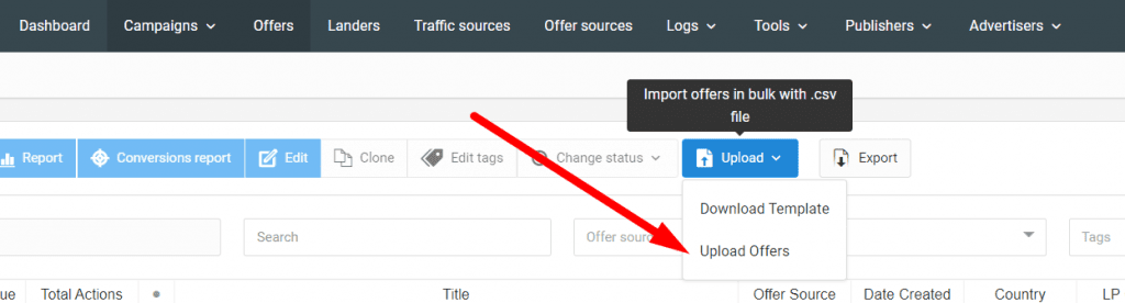 Productivity Tip: How To Add Offers in Bulk To Your Affiliate Tracker and Save Tons of Time