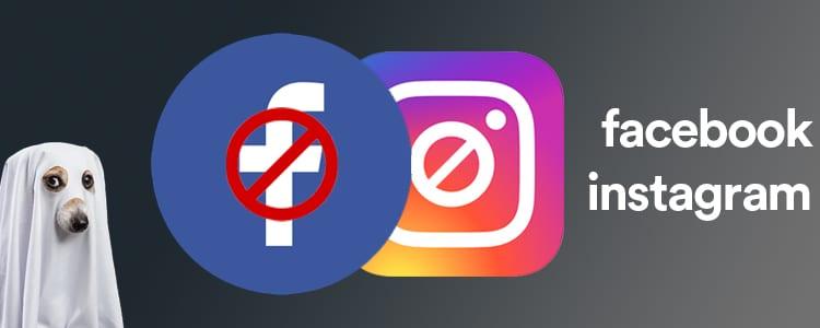shadowbanning facebook instagram