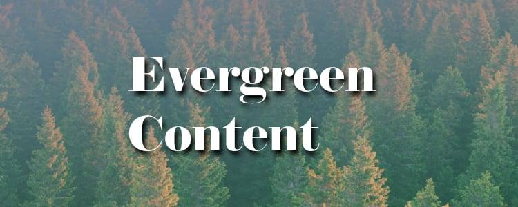 how evergreen content can help you get more organic reach on facebook