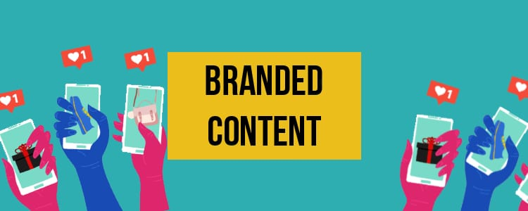 facebook post ideas - branded content