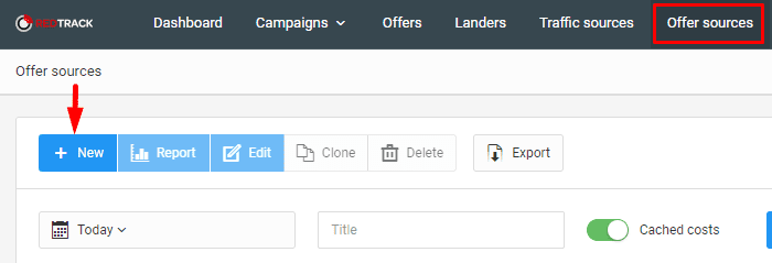 how to create new campaign using redtrack for affiliate marketers
