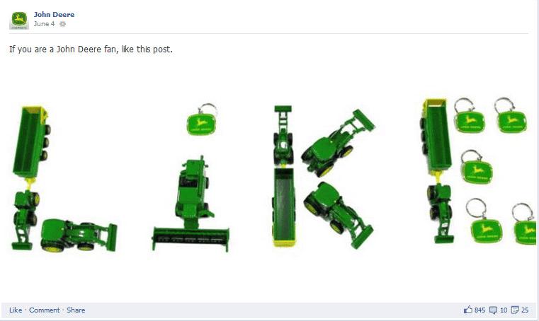 facebook post ideas - creativity