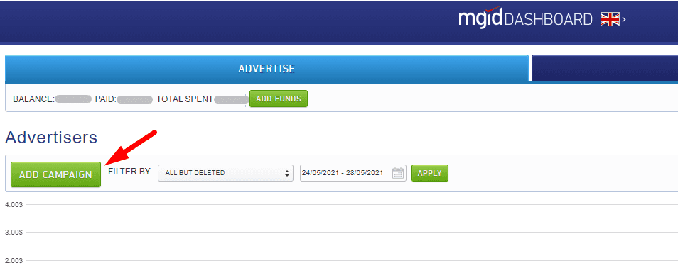 how to create campaign on mgid native ads