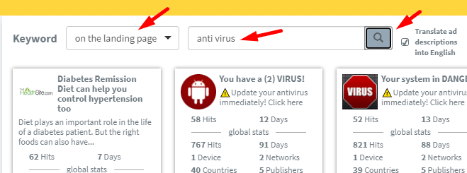 How To Run Antivirus Offers on Zeropark Push