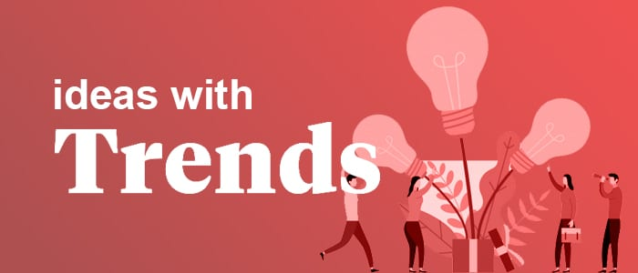come up with business ideas using Trends.co