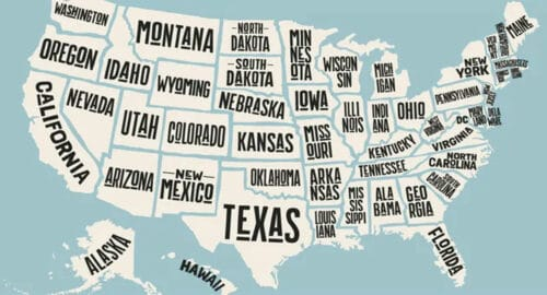 List of 50 States in Text Format You Can Cut N Paste