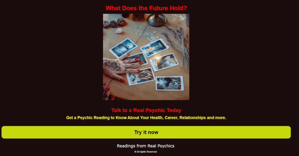 How to Run Psychic Offers (Fortune telling, Horoscope etc.) On Zeropark Push